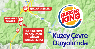 Burger King on the Northern Ring Motorway