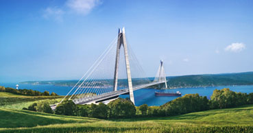 Yavuz Sultan Selim Bridge and Eurasia Tunnel relieve heavy traffic congestion in Istanbul