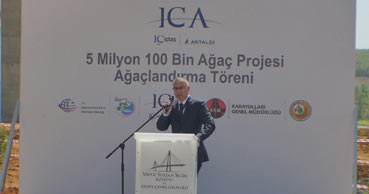 ICA planted 3.7 millions of trees and plants in Istanbul