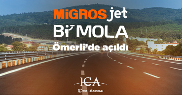 MIGROS JET has opened at BI'MOLA Omerli