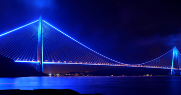 Yavuz Sultan Selim Bridge Will Be Illuminated with Blue and Orange Lights for World Cancer Day